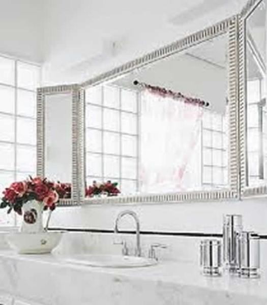 Espelho Grande Para Banheiro Decoração