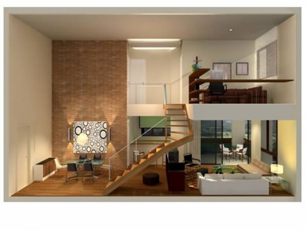 Apartamento duplex im veis e imobili ria for Fotos de apartamentos bonitos