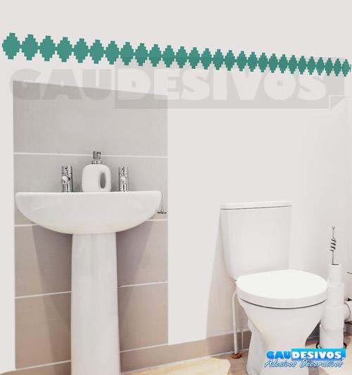 Armario Aberto Closet ~ Azulejo em Adesivo para Banheiro Pastilhas e Revestimento Construdeia