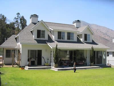 Casas americana de luxo modelos e cores for Fachadas de casas americanas