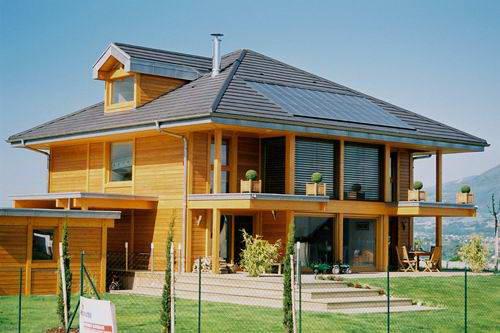 Casas americana de madeira plantas e modelos - Casas madera portugal ...