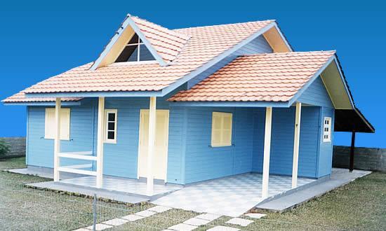 Casas Com Fachada Simples