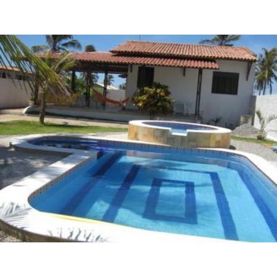 Casas com piscina 4 for Piscina de microfibra