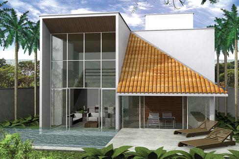 Casas e projetos for Casa moderna baratas