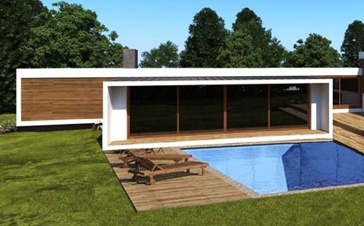Casas modulares fotos e modelos construdeia - Casas modernas modulares ...