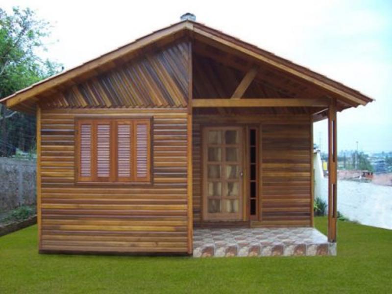 Como construir uma casa de madeira for Construir casas