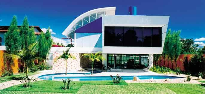Constru o de casas modernas for Casas modernas futuristas