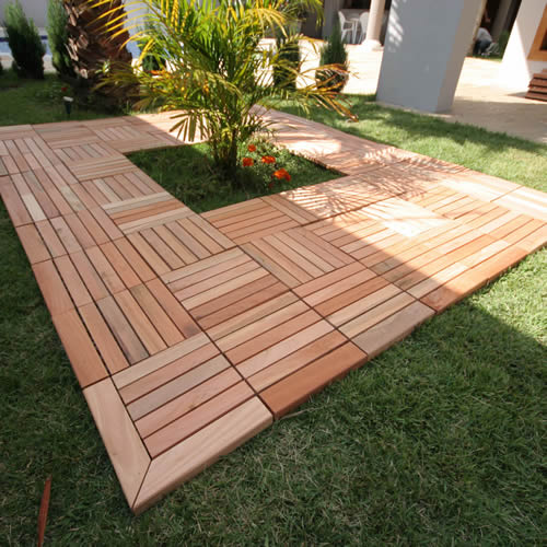 Decks Modulares De Madeira