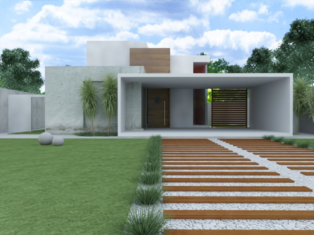 Ed culas modernas casas e fotos construdeia for Casas minimalistas baratas