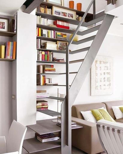 Home Design Ideas Book: Escadas Para Espaços Pequenos
