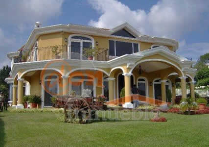 Fachada de casa de campo simples e luxo construdeia for Fachada casa campo
