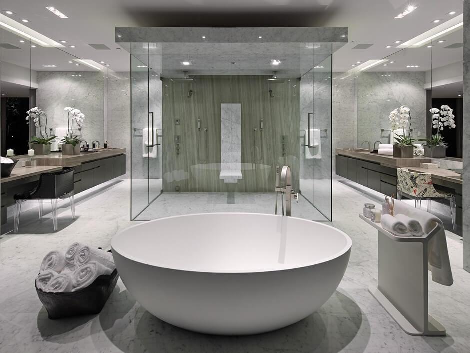Ideias Banheiro Com Banheira : Ideias para banheiro