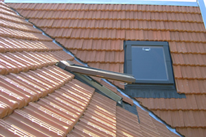 Ventilação pelo telhado