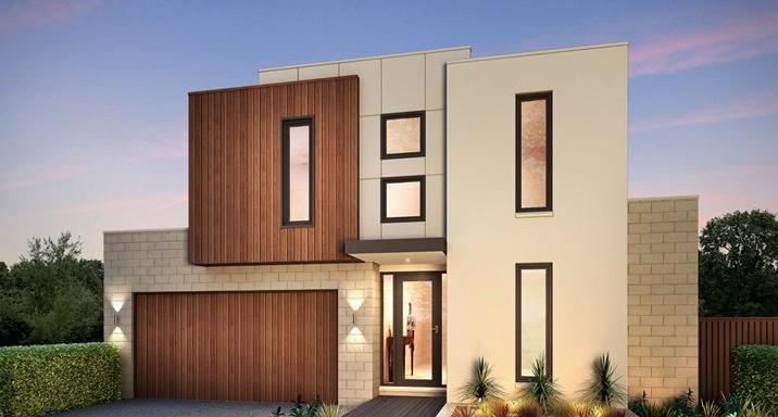Materiales para fachadas modernas affordable modelos de - Materiales fachadas modernas ...