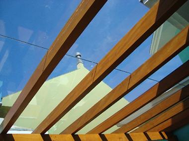 Acabamento telhado beiral