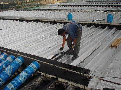 Manta asfaltica aluminizada como aplicar