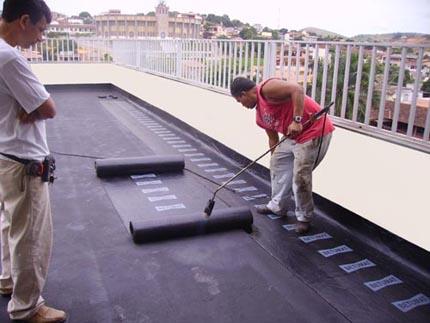 Manta telhado impermeabilizante