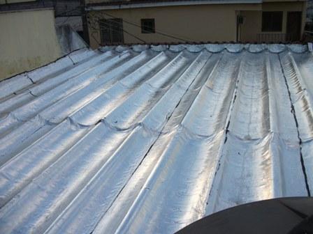Manta para telhas de amianto