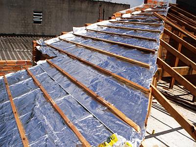 Preço telha de aluminio com isolamento termico