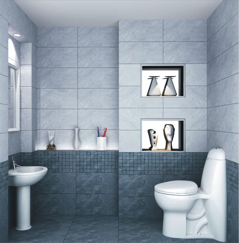 Modelo de azulejo para banheiro pisos e pastilhas for Pisos ceramicos para banos pequenos