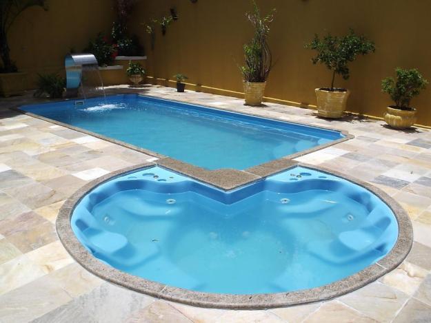 Piscina de fibra pre o e modelo construdeia - Fotos piscinas ...