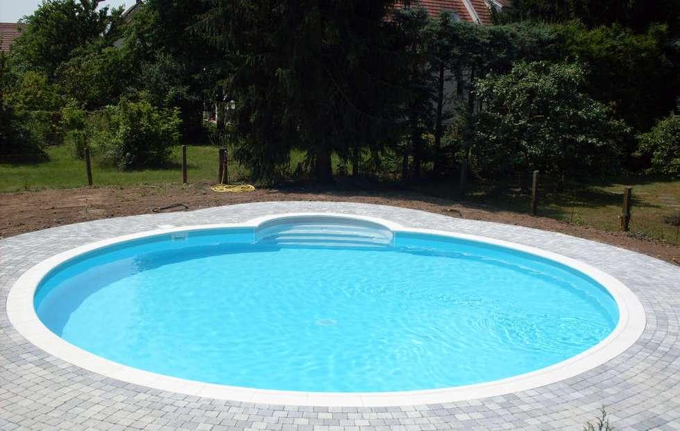 piscina redonda fibra e infl vel