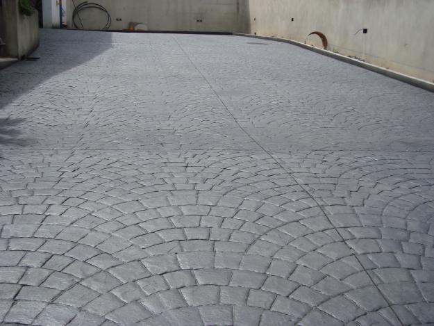 Piso de concreto armado e polido construdeia for Pisos para escaleras de concreto