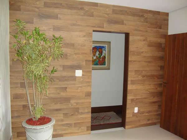 Piso de madeira para parede revestimento e constru o - Fotos para paredes ...