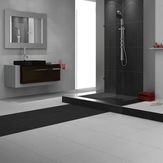 Banheiro com piso e azulejo imagui - Pisos modernos ...
