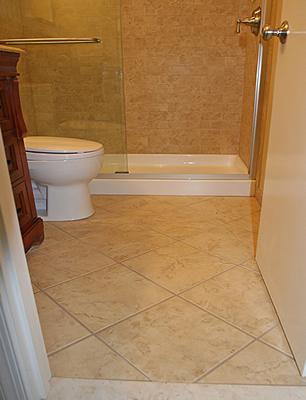 Pisos para banheiro simples cer mica e modelos construdeia for Small bathroom design 6x6