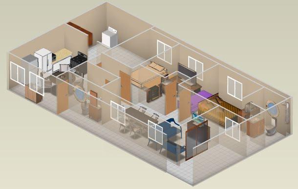 Plantas e projetos de casas em 3d tecnologia e projetos - Crear casas 3d ...