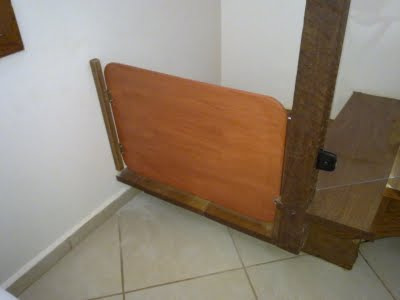 Portao interno para escada