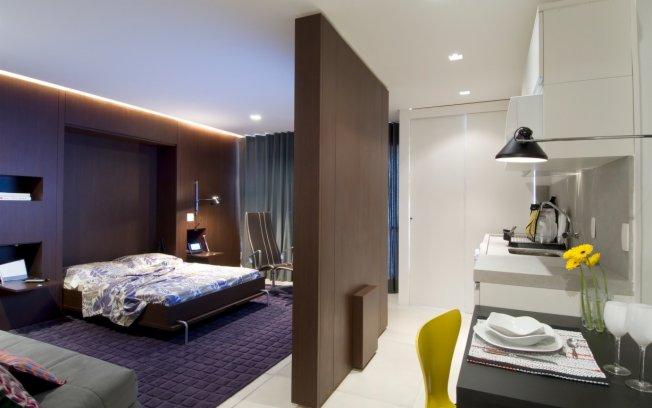 Suficiente Quarto com Closet e Banheiro - Móveis e Projeto | construdeia.com NX62