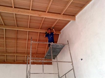 Forro de telhado