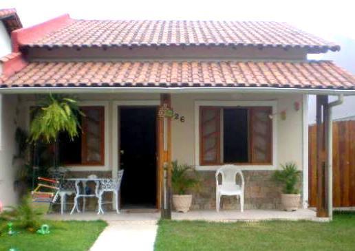 Telhados coloniais para varanda simples e modernos for Modelos de casas pequenas y bonitas
