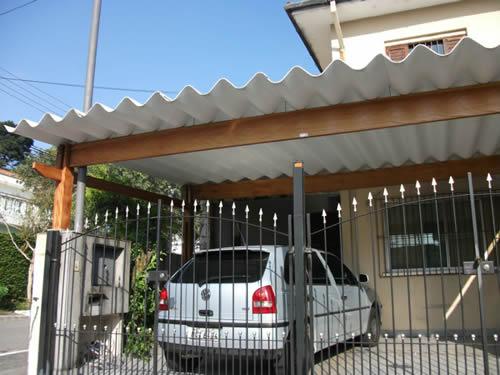 Telha Para Garagem Telhado E Cobertura Construdeia Com