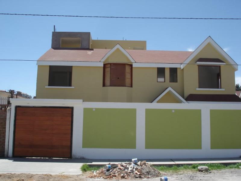 Casas pintadas cores e tintas for Casas modernas pintadas