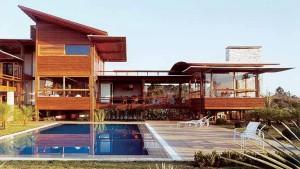Ideias de Casas de Madeira Moderna