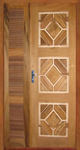 Modelos de Portas Modernas em Madeira Trabalhada
