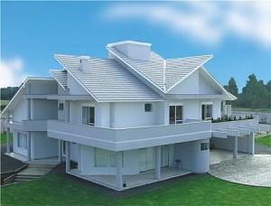 Telhado de Casa Moderna