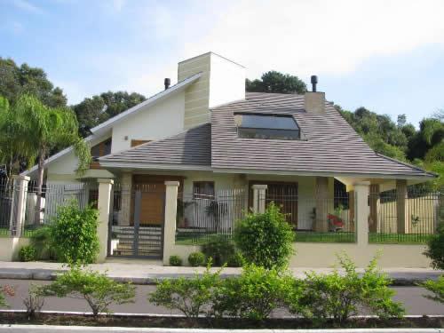 Telhado de casa moderna for Casa moderna 8