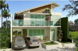 Casas com Sacadas Modernas