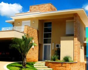 Casas com Fachada de Cerâmica