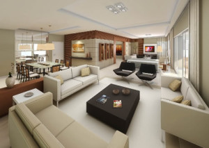Salas Residenciais Modernas
