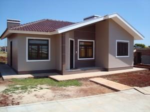 Pintura de casa simples e pequena for Cores modernas para fachadas de casas 2016