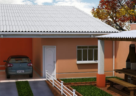 Tipos de telhas para cobertura de varandas