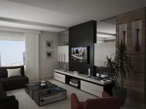 Sala Moderna Simples