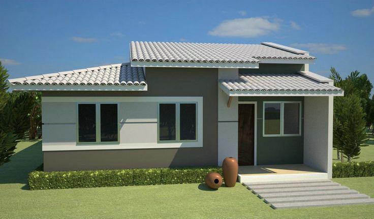 Pintura de casas simples - Pinturas para fachadas de casas ...