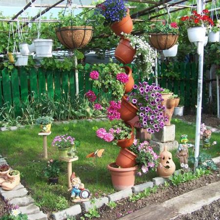 Ideias Simples para Jardim Construdeia.com