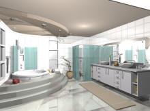 Ideias para Banheiro com Banheiras Grandes